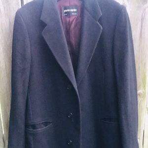 ⚜️Vintage Men's Pierre Cardin Cashmere Overcoat